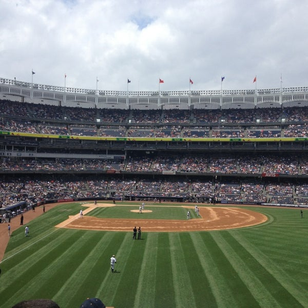 Photo taken at Yankee Stadium by Rachel on 7/13/2013
