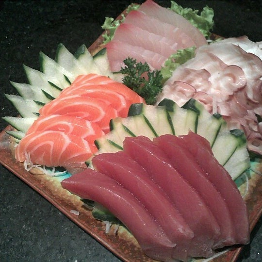 Photo taken at Joy Sushi by Samuel A. on 10/2/2012