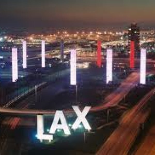 Photo taken at Los Angeles International Airport (LAX) by Andrey on 12/24/2012