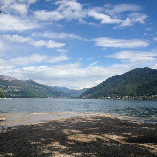 Photo taken at Lago di Lugano by firestartr on 5/12/2013