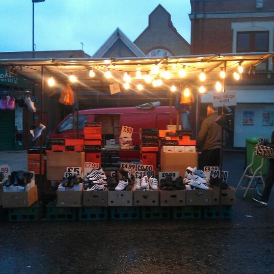 Photo taken at Ridley Road Market by Alice F. on 10/23/2012