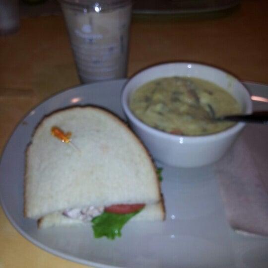 Photo taken at Panera Bread by Rebecca E. on 9/19/2012