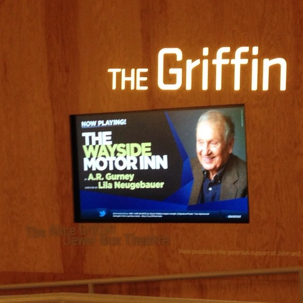 Photo taken at The Pershing Square Signature Center by Libby on 8/17/2014