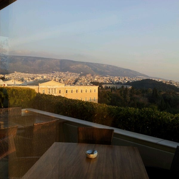 Photo taken at Hotel Grande Bretagne by Lily Y. on 3/4/2013