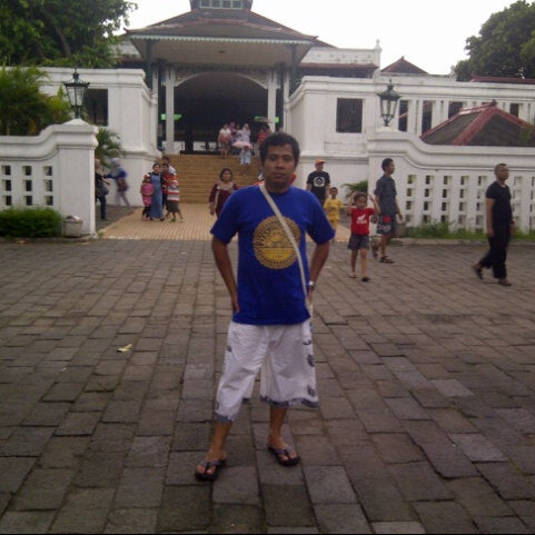 Photo taken at Alun - Alun Lor by a b o l. on 12/29/2012
