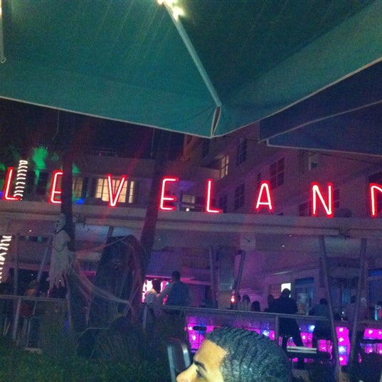 Photo taken at Clevelander South Beach Hotel and Bar by Jay J. on 10/28/2012