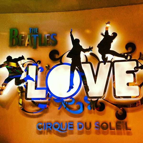 Photo taken at The Beatles LOVE (Cirque Du Soleil) by Jose Ramon on 3/30/2013