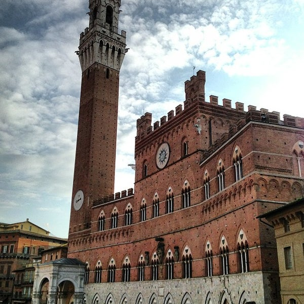 Photo taken at Piazza del Campo by Stefano on 2/18/2013