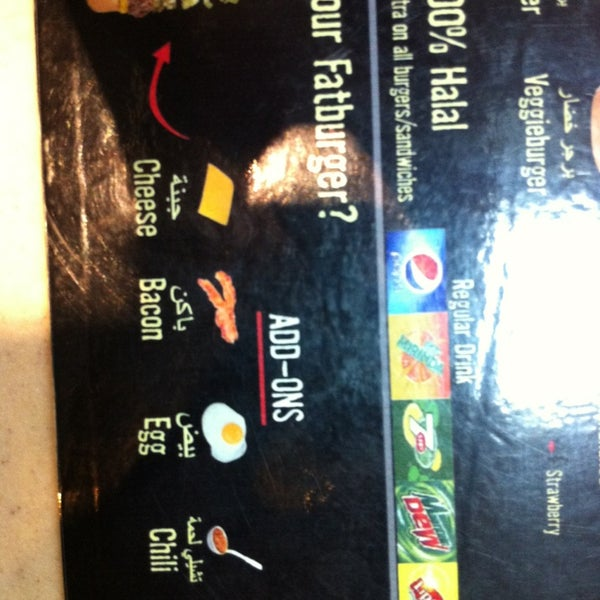 Photo taken at Fatburger by Bandar.M on 6/14/2013