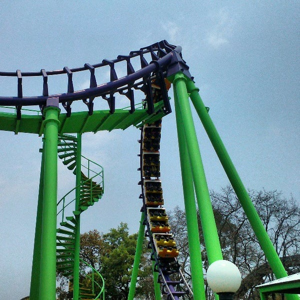 Photo taken at Six Flags by Jorge Enrique C. on 4/20/2013