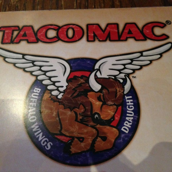 Photo taken at Taco Mac Sports Grill by Drew S. on 1/29/2013