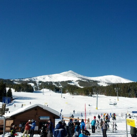 Photo taken at Breckenridge Ski Resort by Kevin on 1/3/2013