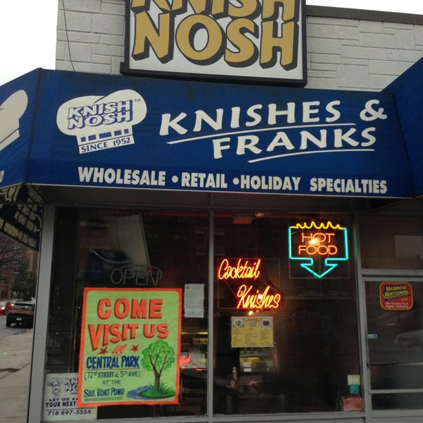Photo taken at Knish Nosh by Mitch Z. on 1/16/2013