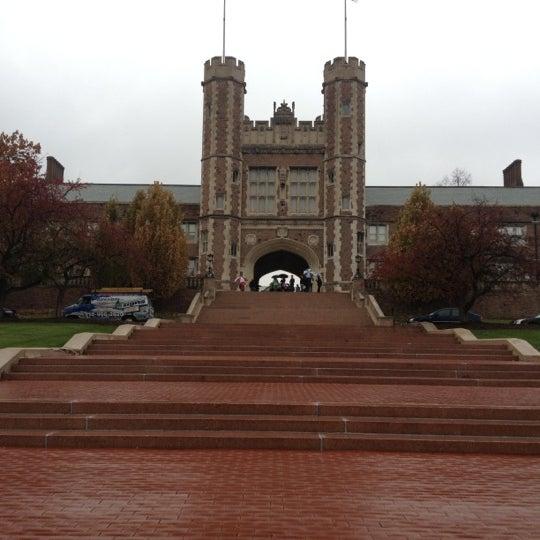 Photo taken at Washington University in St. Louis by Kathleen on 11/5/2012