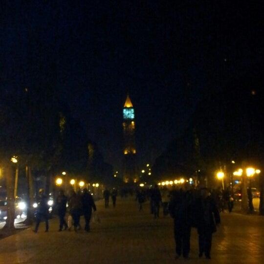 Photo taken at Avenue Habib Bourguiba I شارع الحبيب بورقيبة by Karim B. on 12/15/2012