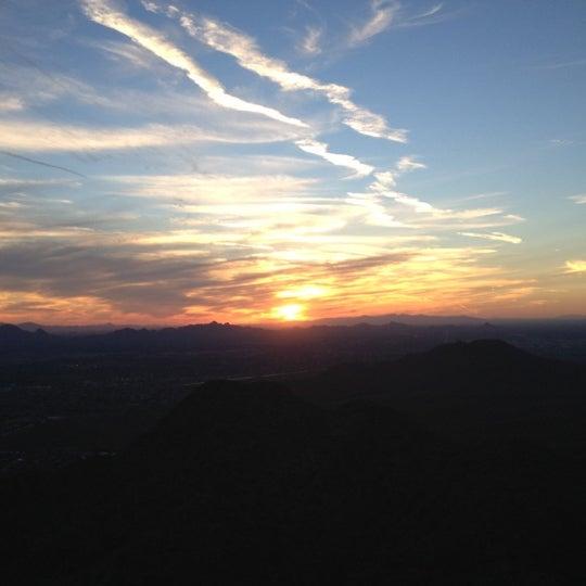 Photo taken at Sunrise Peak by Jacque on 10/18/2012