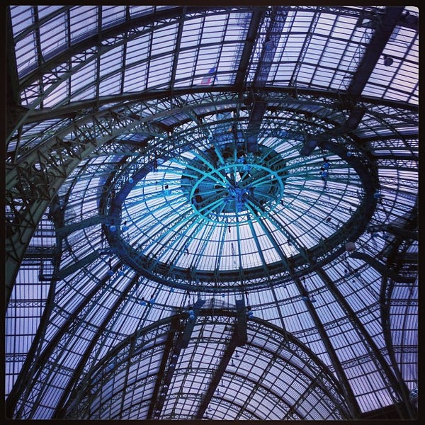 Photo taken at Grand Palais by Charles M. on 12/21/2012