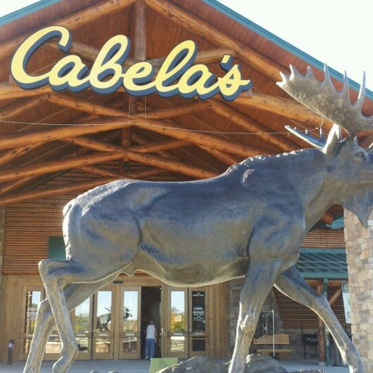 Cabela 39 s sporting goods shop in scarborough for Cabela s fishing nets