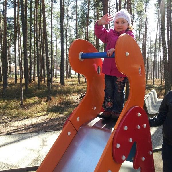 Photo taken at Dzintaru Mežaparks by Artūrs R. on 4/28/2013