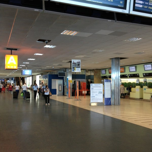 Photo taken at Palermo Airport (PMO) by Andrey N. on 6/28/2013