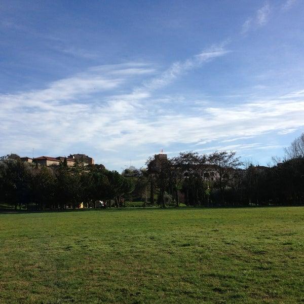 Photo taken at Parco Ragazzi del '99 by Pietro V. on 3/21/2013