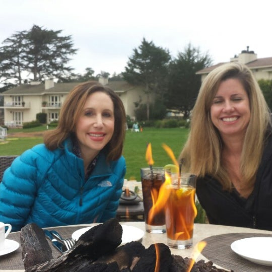 Photo taken at The Lodge at Pebble Beach by Mark F. on 2/15/2014