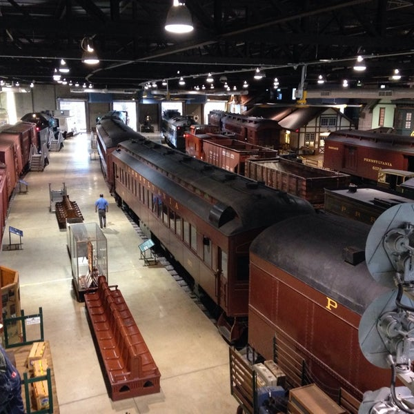 Photo taken at Railroad Museum of Pennsylvania by Joe F. on 12/28/2013