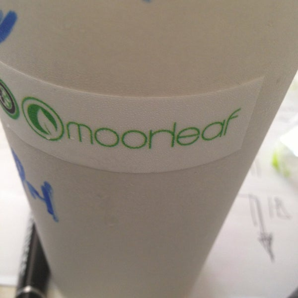 Photo taken at Moonleaf Tea Shop by Ritz on 1/24/2013