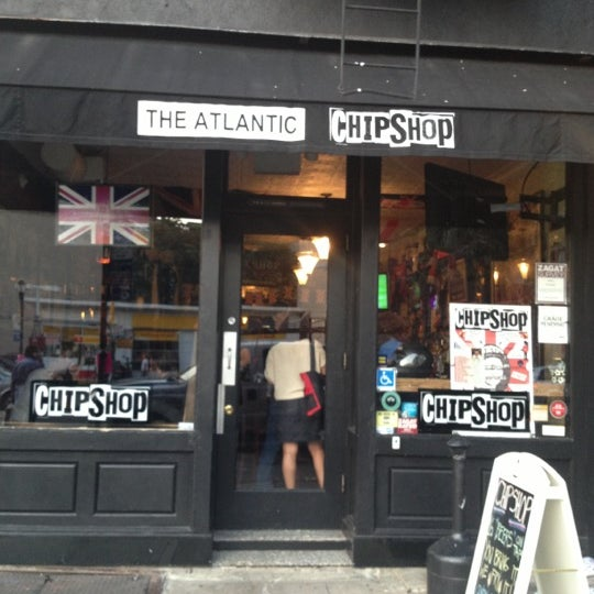 Photo taken at The Atlantic ChipShop by Georgie C. on 10/5/2012