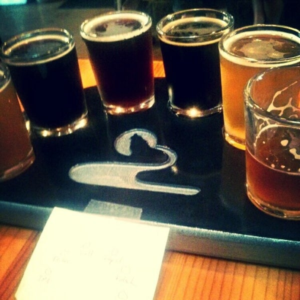 Photo taken at Blackfoot River Brewing Company by Brooke M. on 9/26/2014