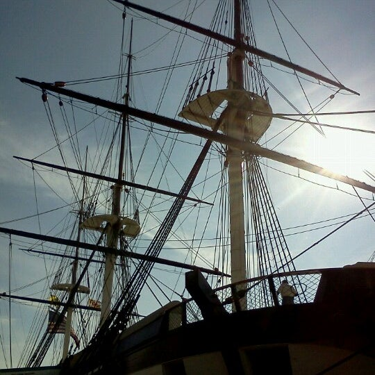 Photo taken at USS Constellation by lynn on 10/17/2012