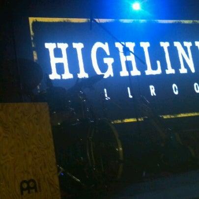 Photo taken at Highline Ballroom by darren k. on 10/1/2012