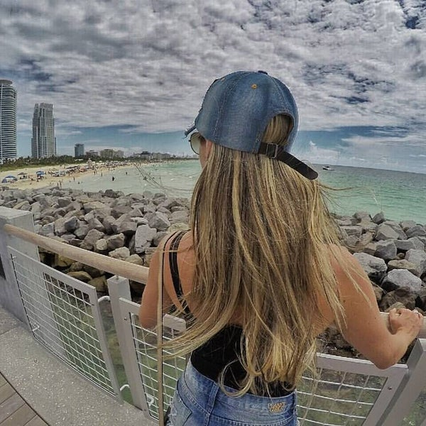 Photo taken at South Pointe Pier by Studioone F. on 6/24/2016