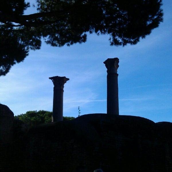 Photo taken at Ostia by Joris W. on 10/17/2012
