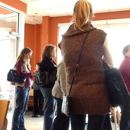 Photo taken at Panera Bread by Rene M. on 11/16/2012