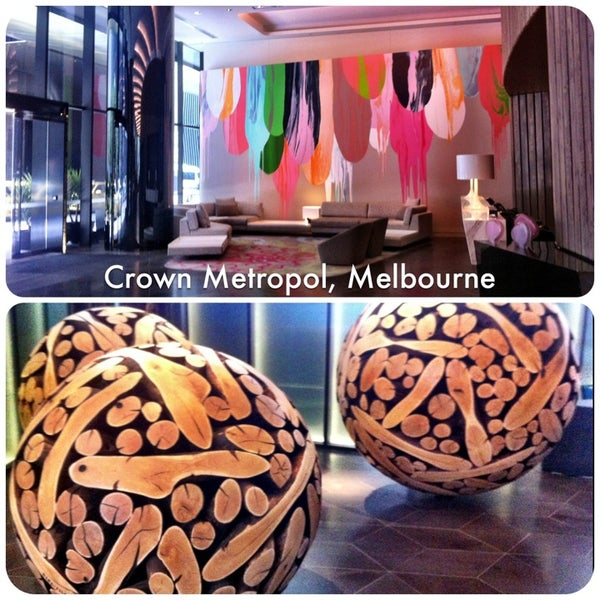 Photo taken at Crown Metropol Hotel by Isabella S. on 1/12/2013