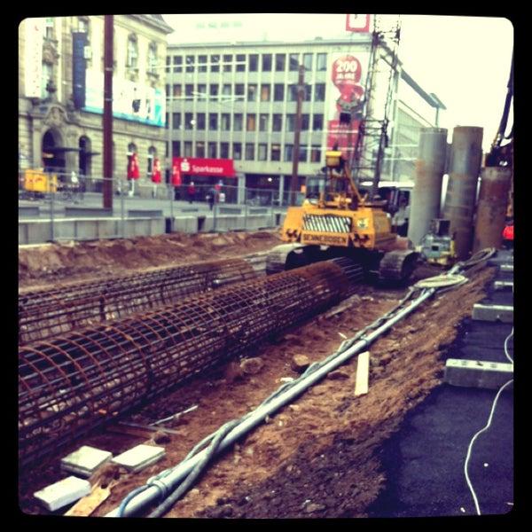 Grosses loch am europaplatz now closed innenstadt west for Europaplatz 4 darmstadt