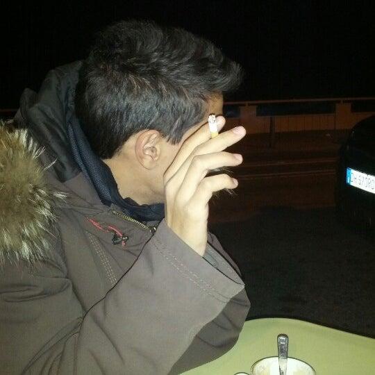 Photo taken at La Perla Cafè by Alessandro B. on 11/22/2012