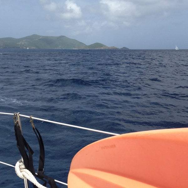 Photo taken at Jost Van Dyke Island by radeaver on 6/3/2013