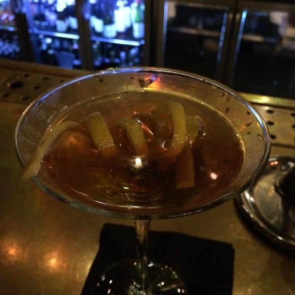 Very good dry manhattan