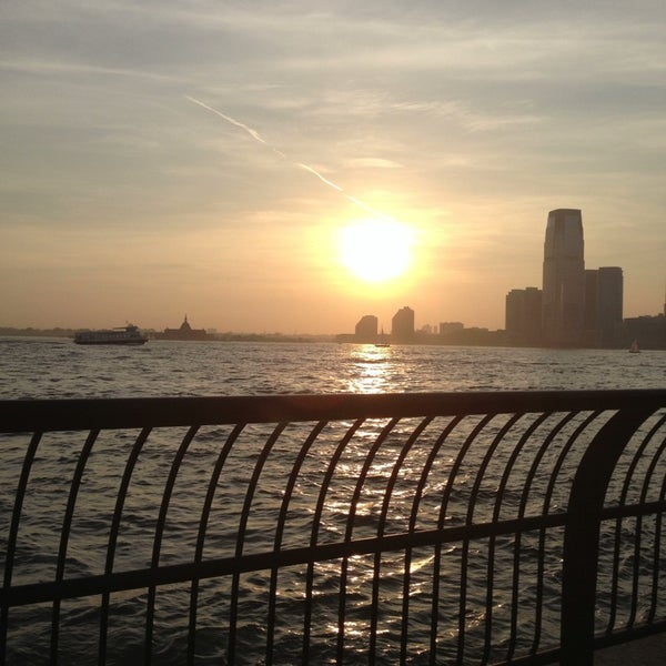 Photo taken at Battery Park City Esplanade by George C. on 5/22/2013