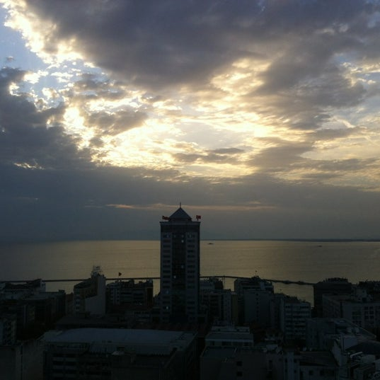 Photo taken at Hilton İzmir by Cem U. on 9/14/2012