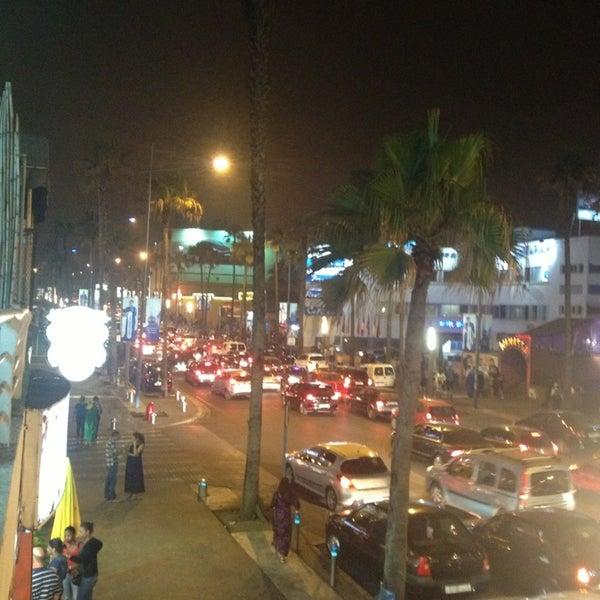 Photo taken at La Corniche de Casablanca by Abdelali   O. on 7/2/2013