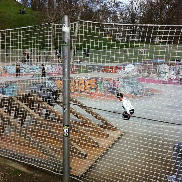 Photo taken at Skate Park by Vale G. on 3/31/2013