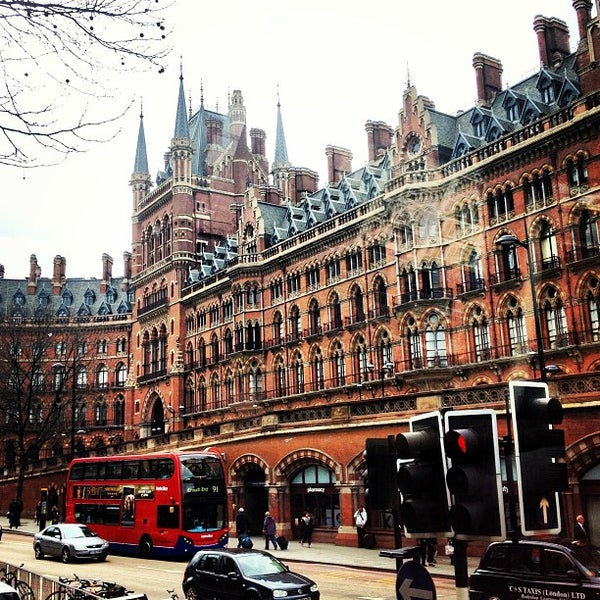 Photo taken at London St Pancras International Railway Station (STP) by Marc S. on 4/19/2013