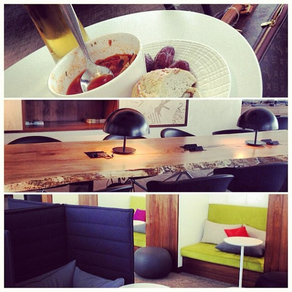 Photo taken at The Centurion Lounge by American Express by Reva R. on 5/17/2013
