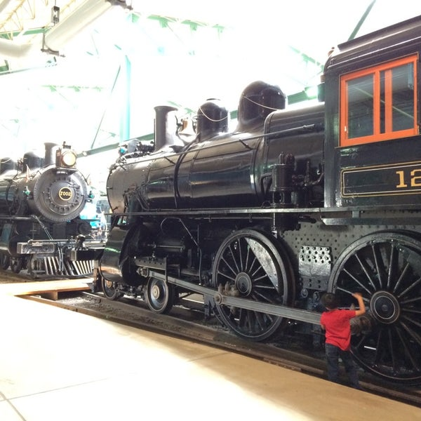 Photo taken at Railroad Museum of Pennsylvania by Sanjay on 4/13/2014