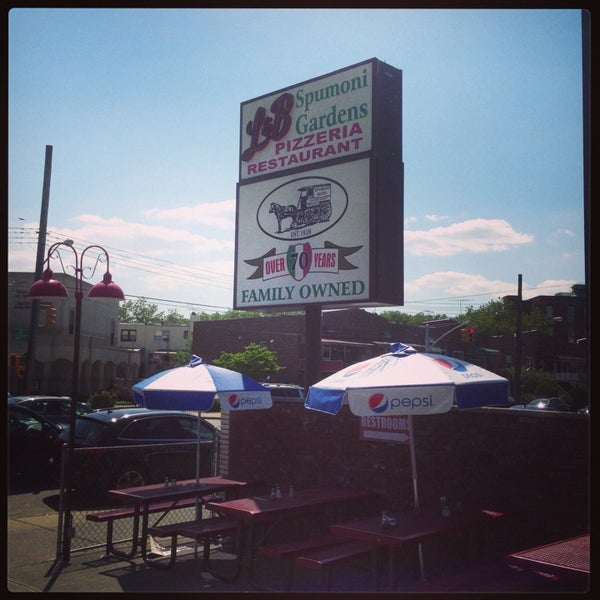 Photo taken at L&B Spumoni Gardens by Edward S. on 6/19/2013