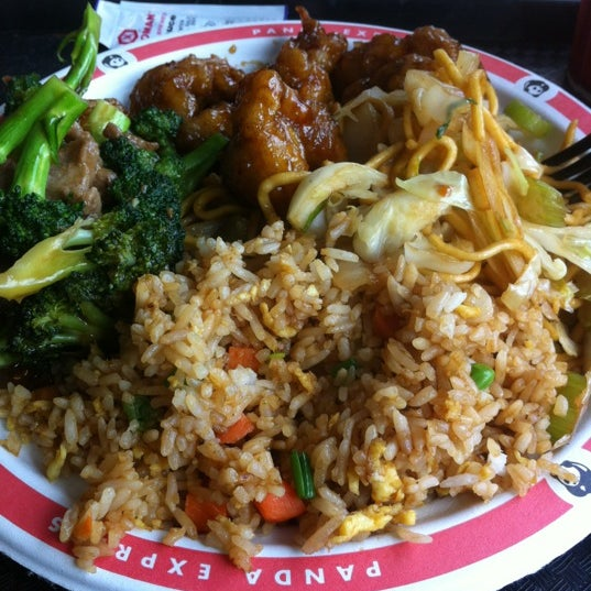 Photo taken at Panda Express by Destin D. on 3/9/2013