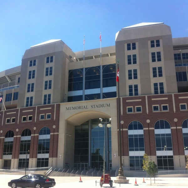 Memorial Stadium College Football Field In University Of